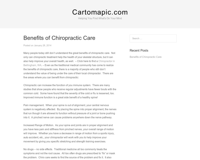 Cartomapic
