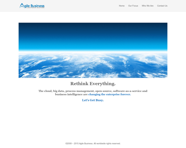 Agile Business