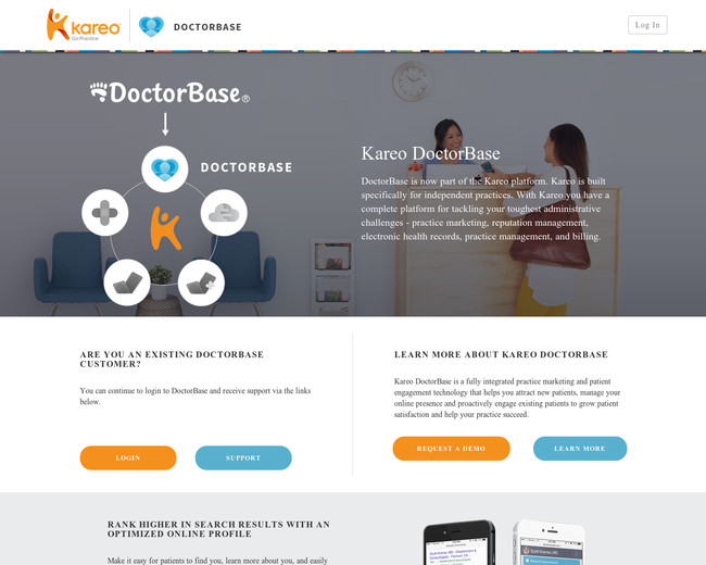 DoctorBase (acquired by Kareo)