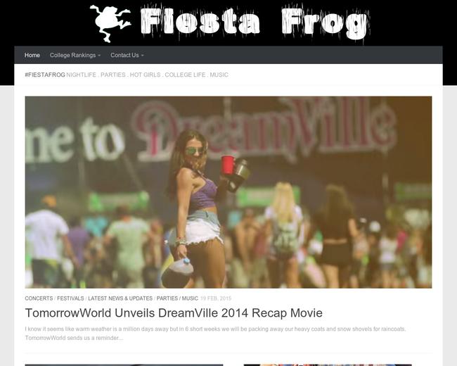 Fiesta Frog