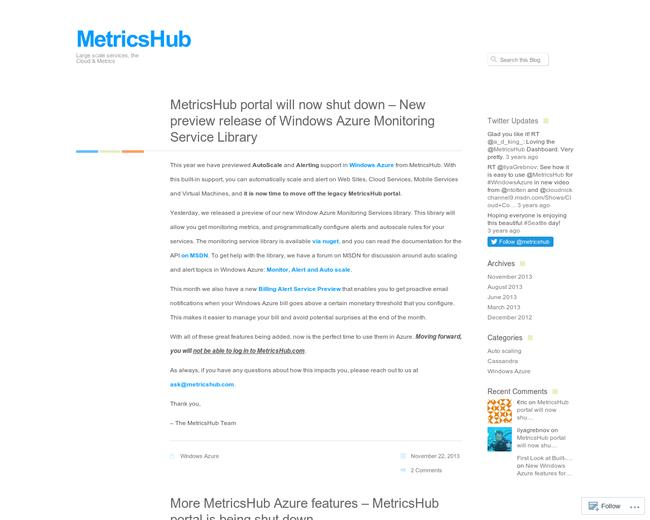 MetricsHub