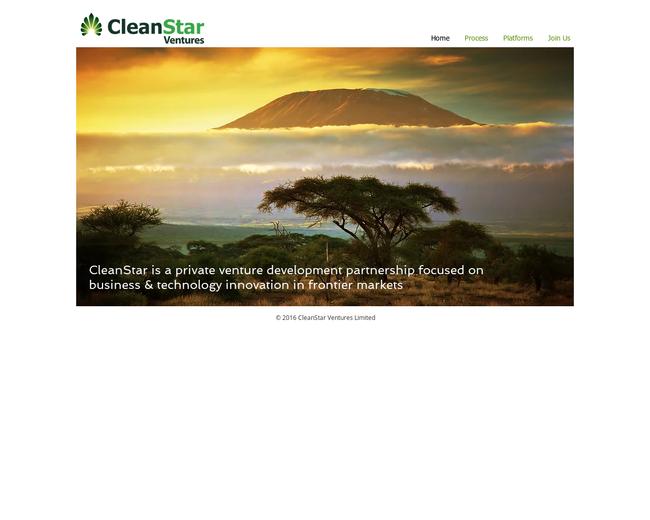 CleanStar Ventures