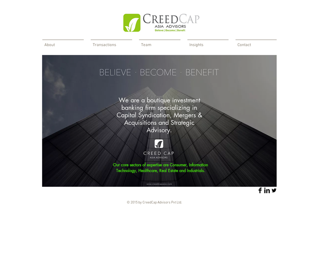 CreedCap Asia Advisors