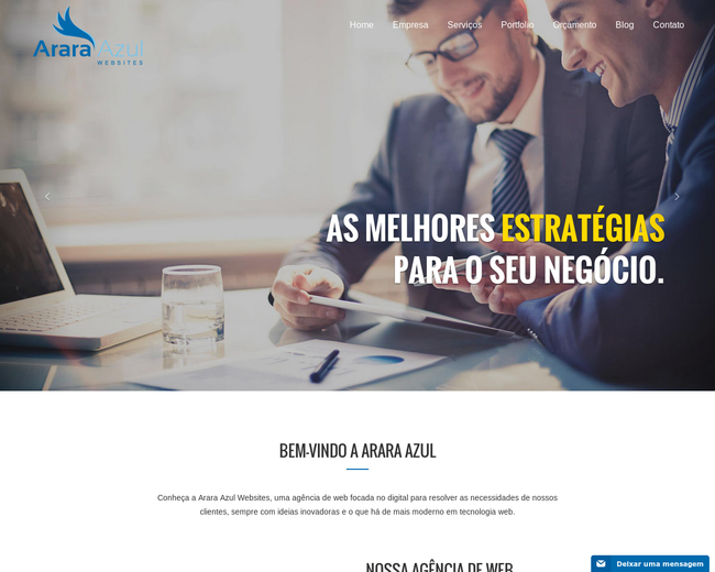 Arara Azul Websites