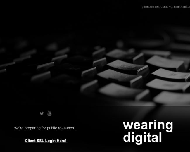 Wearing Digital