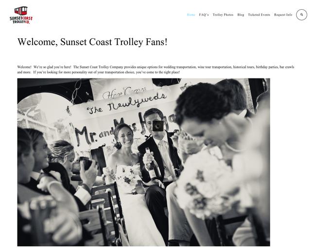 Sunset Coast Trolley Company