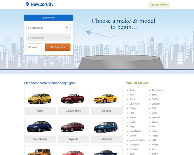 New Car City