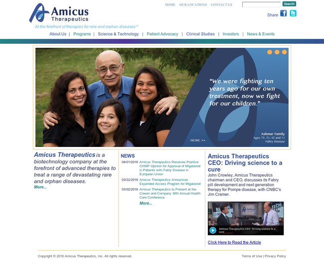 Amicus Therapeutics