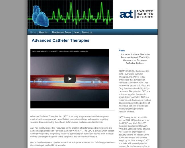 Advanced Catheter Therapies