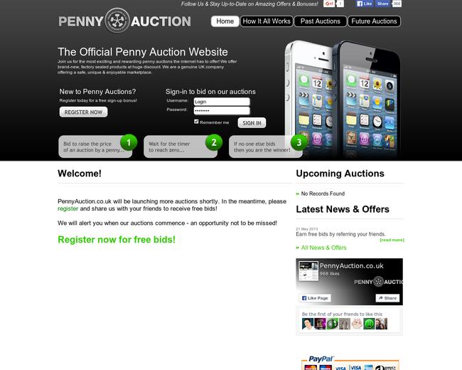 PennyAuction.co.uk