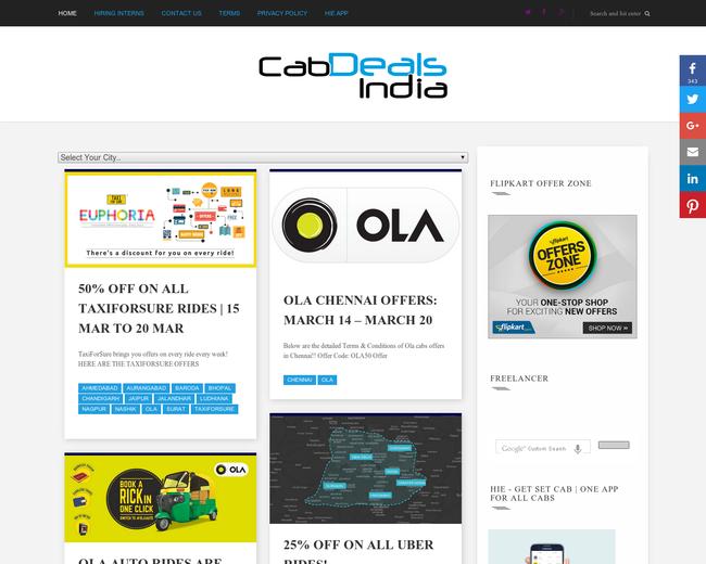 CabDealsIndia