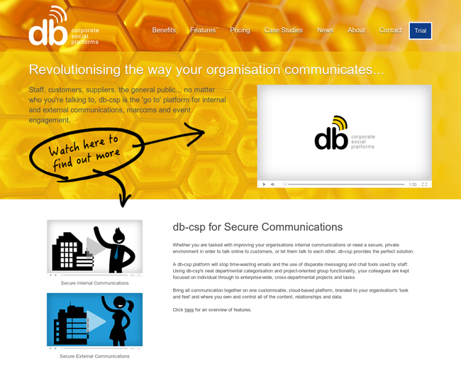 db - corporate social platforms