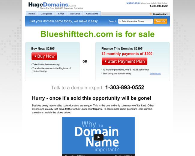 BlueShift Technologies