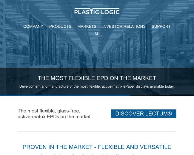 Plastic Logic