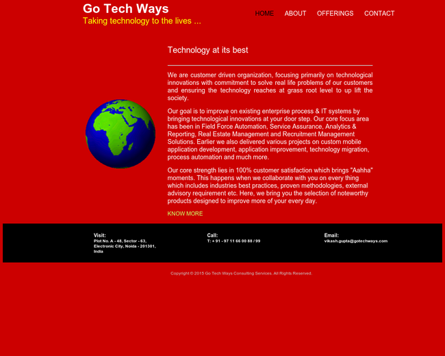 Go Tech Ways Consulting