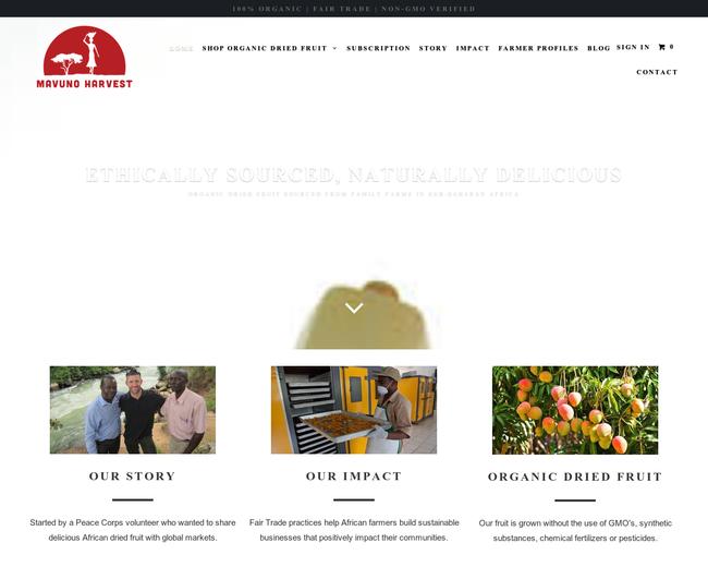 Mavuno Harvest