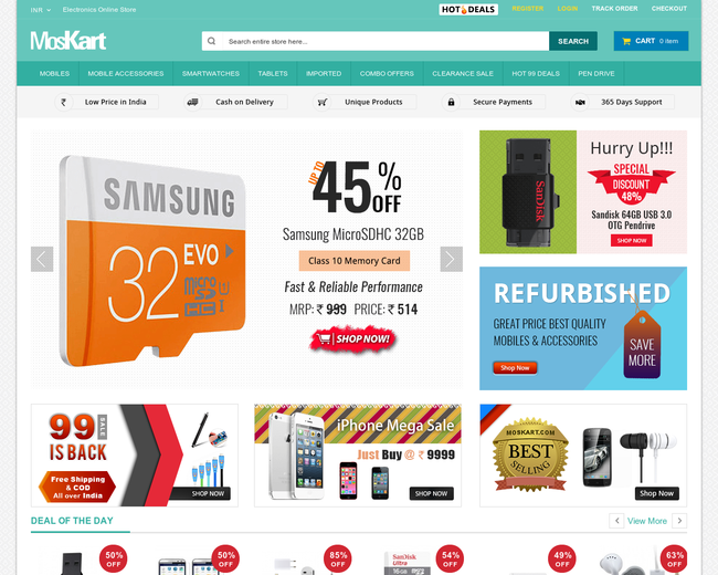 Electronics Online Store - MosKart