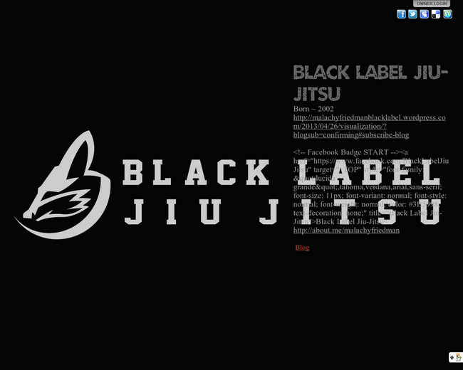 Black Label Jiu Jitsu