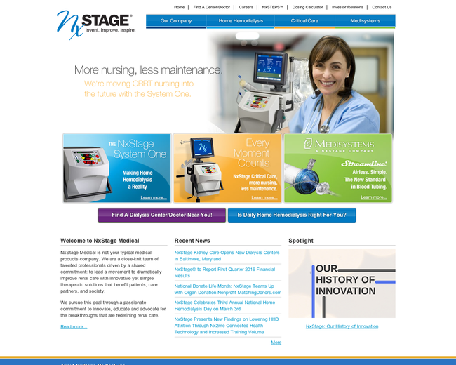 NxStage Medical