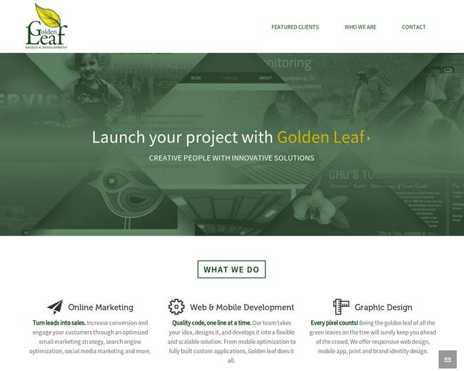 Golden Leaf Designs