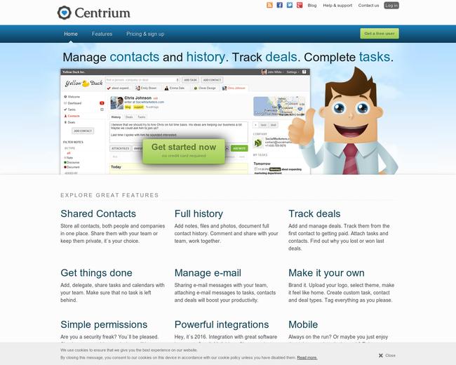 Centrium CRM