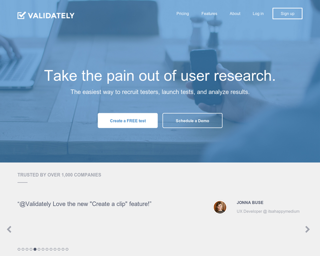 Validately