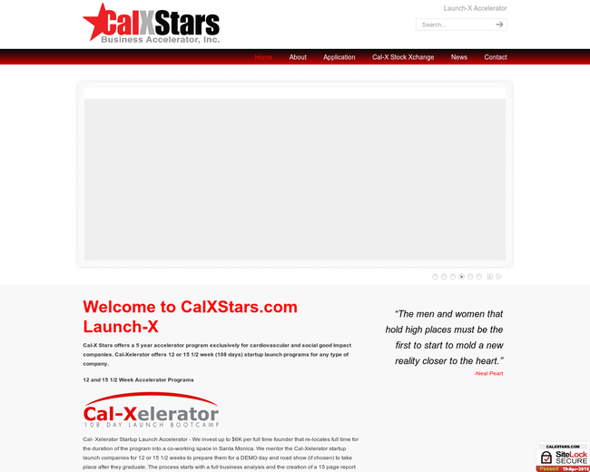 Cal-X Stars Innovation Accelerator
