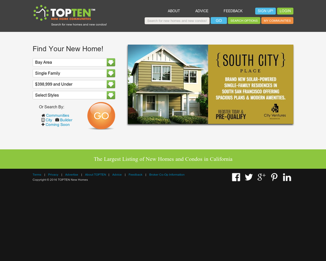 TOPTEN New Homes