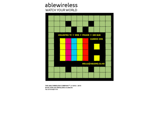 The Able Wireless Company