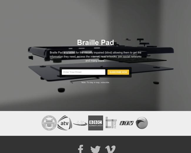 Braille Pad