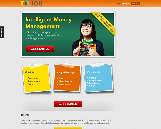 IOU - Intelligent Money Management