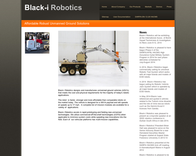 Black-I Robotics