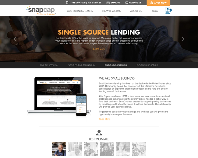SnapCap Business Lending
