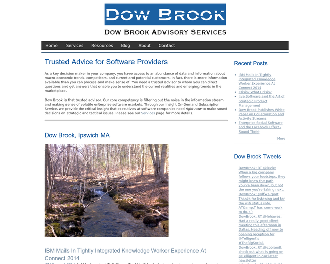 Dow Brook Advisory Services