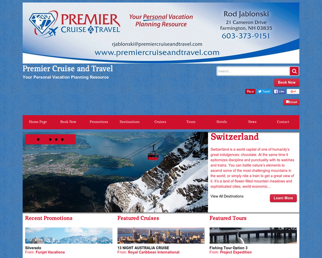 Premier Cruise And Travel