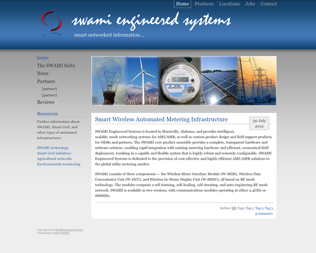 SWAMI Engineered Systems (SES)