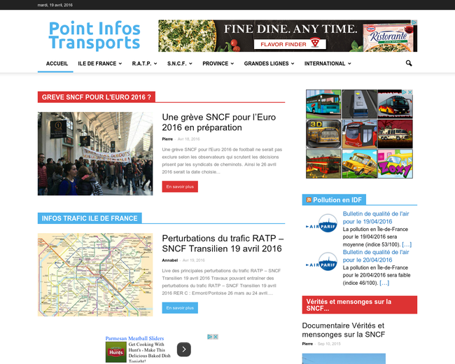 Point Info Transports