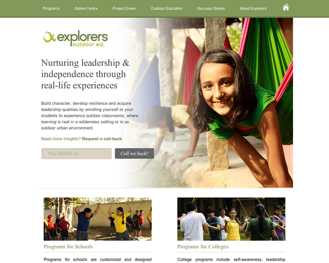 Explorers OutdoorEd