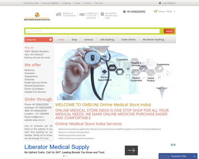 Online Medical Store India