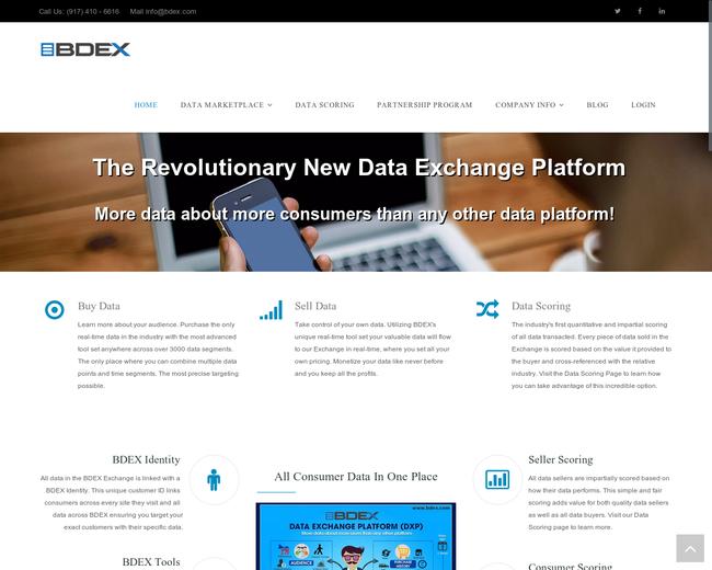 BDEX - Big Data Exchange