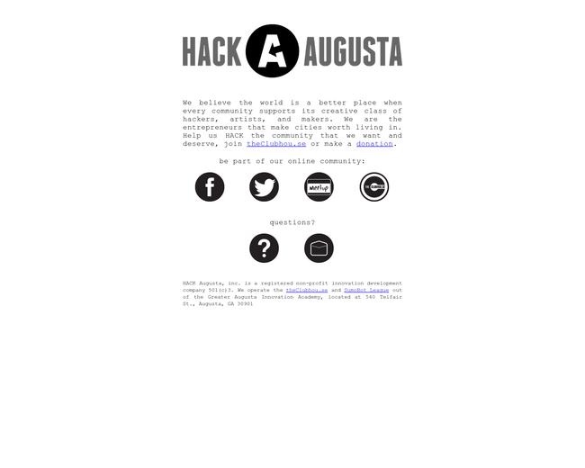 Hack Augusta