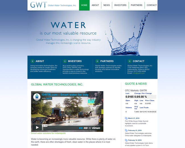 Global Water Technologies