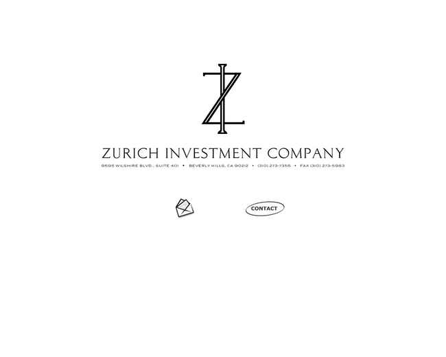Zurich Investment Company