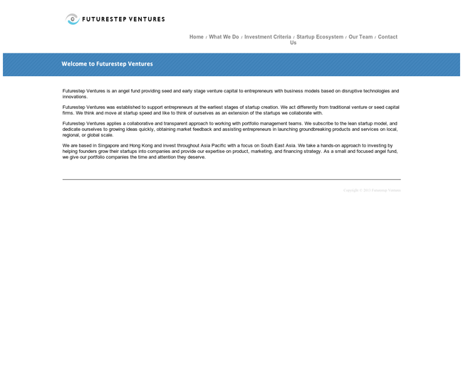 Futurestep Ventures