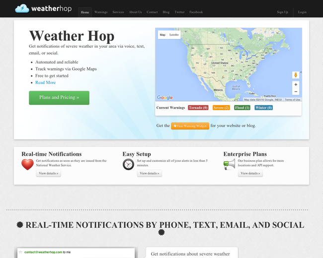 WeatherHop