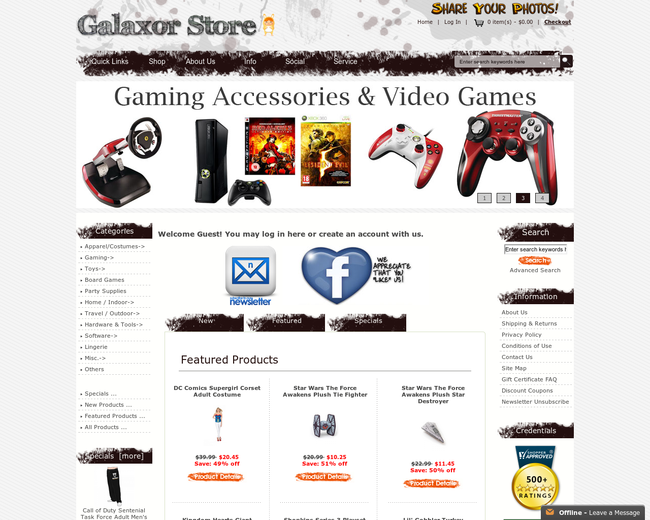 Galaxor Store