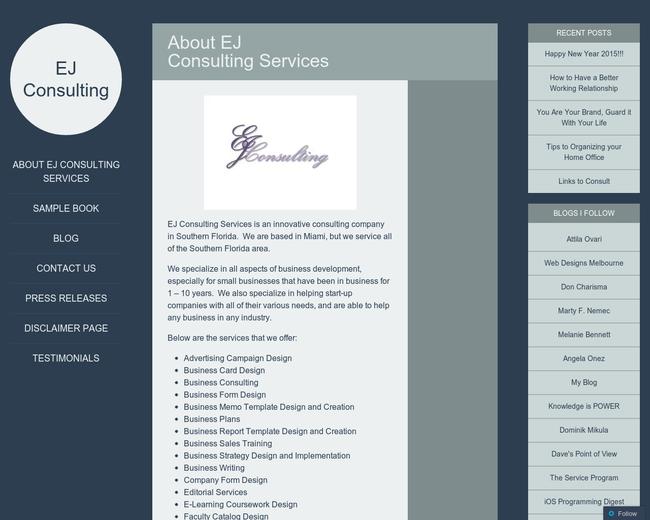 Elizabeth Jamey Consulting