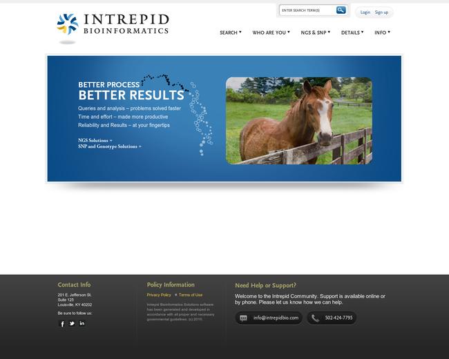 Intrepid Bioinformatics
