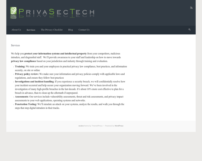 PrivaSecTech